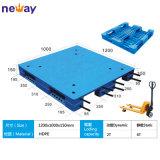 Größe 1200*1000 HDPE materielle einzelne Gesichts-Plastikladeplatte