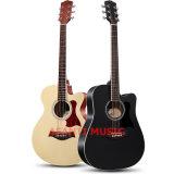 """Guitarra acústica del diseño 41 de Cuestom de la música de Afanti """" (AAG-105)"""