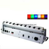 9X18W RGBWA+Bateria Sem Fio UV mini-bar do Lavador de parede LED Light