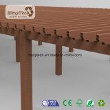 Fabricante por atacado Pergola de madeira composta para jardim