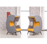 Fabric type Office Booth Seating for cafe Table AREA