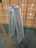 Dobragem de alumínio arqueada calha única rampa de motocicleta (HS-MR8)
