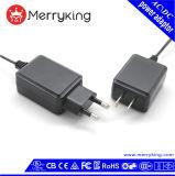 AC gelijkstroom van de Levering van de macht 12V 18W Adapter voor Vochtigheid