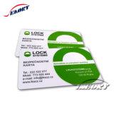 Het duidelijke Cr80 Standaard van de Grootte RFID Slimme Identiteitskaart Facebook Zonder contact van 13.56MHz- pvc