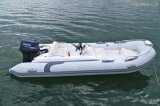 Liya 4.3m Opblaasbare Boot van de Vissersboot van de Boot van de Rib van de Glasvezel de Opblaasbare