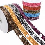 Qualitäts-Produkt-Polyesterzoll gedrucktes Grosgrain-Farbband
