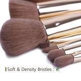 7PCS бамбуковые ручки для макияжа набор щеток с PU Чехол Bag