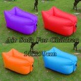 아이를 위한 다채로운 소파 소굴 공기 팽창식 소파 의자 휴대용 소형 의자