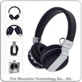 Auscultadores recarregáveis estereofónicos sem fio Foldable de Fe-018 Bluetooth