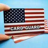 Низкая MOQ закрепите блокировщик кредитных карт RFID Блокирование карты