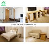 Conjuntos modernos elegantes de los muebles del dormitorio del doble del estilo para la venta