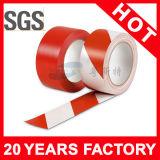 赤くおよび白い床の付着力の注意テープ(YST-FT-006)
