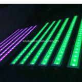 Stadiums-Licht 24 10W imprägniern RGBW LED Wand-Unterlegscheibe