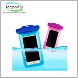 мешок водоустойчивого мобильного телефона PVC 19*10.7cm водоустойчивый