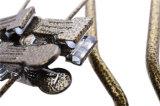 Achinoの金属クリップ贅沢なベーキングニスの金属のスーツのハンガー
