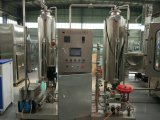 Embotelladora automática de agua del gas de botella de cristal