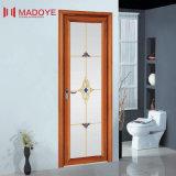 Дверь ванной комнаты зерна изготовления Китая деревянная с декоративной решеткой
