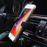 Suporte para automóvel Qi rápido carregamento rápido carregador veicular sem fio magnético para iPhone8