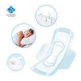 Higiene femenina de la pista sanitaria del algodón de maternidad absorbente estupendo maxi