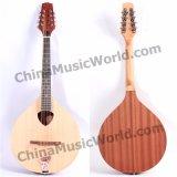 Mandolina completamente Handcrafted de Bouzouki de la música de Pango (PIB-009)