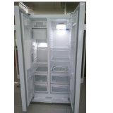 Porta do fólio do refrigerador do refrigerador com os Ss que olham a cor