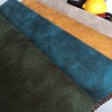 Estofos de novo estilo de têxteis e tecidos de couro de camurça