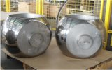 Forjada en acero inoxidable pulido bola sólida para el Kit de piezas de repuesto de válvula de bola