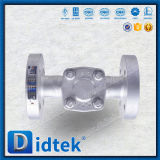 Didtek BS5352 forgiato pollice della valvola 1/2 di ritorno dell'acciaio non