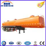 Acero de carbón 30000-80000 litros de gasolina de acoplado del depósito, de petróleo del buque acoplado semi