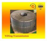 Pequeña rueda de engranaje de transmisión del módulo usada en la caja de engranajes de la industria del cemento