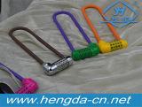 Yh9188 Anse longue 5 cadenas à combinaison de numérotation de Locker verrouiller le verrouillage du hayon