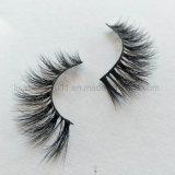 100% норки мех ручной работы природных 3D-норки расширений Eyelash волос