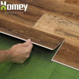 高品質SpcプラスチックMarerialクリックPVCフロアーリングかビニールの板の床