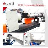 Riga di granulazione macchina di pelletizzazione della macchina dei pp della pellicola di plastica del PE di pelletizzazione