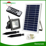 Outdoor Security Garden Lighting 12 LEDs Remote Control Solar Flood Light