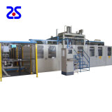 Zs-5567 gabarit mince machine de thermoformage entièrement automatique