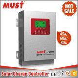 60AMP het zonneControlemechanisme MPPT 12V/24V/36V/48V van de Last