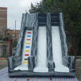 7.5*4*5.5m Ingroundのプールのための屋外の巨大で膨脹可能な水スライド膨脹可能な水スライド