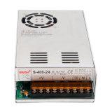 400W de LEIDENE DC24V16.5A van SMPS Levering van de Macht met Ce RoHS (s-400-24)