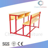 Haut de table blanc doute utiles Sièges Table d'étudiant pour l'école salle de classe (AR-SD1809)