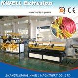 Linha de produção ondulada da tubulação da única parede, fio/extrusora protetora tubulação do cabo