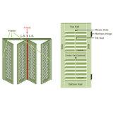 Декоративная виниловая пленка ПВХ плантации окно затвора (WPPWS серии)