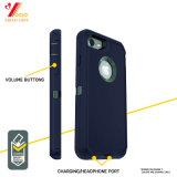 Custom прозрачный черный синий iPhone 6 случай / iPhone 7 / iPhone 8 силиконовый телефон (XY-IA-1)