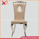 Cadeira moderna do aço inoxidável do restaurante do hotel
