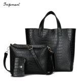 3 ПК/Set высокое качество сумки через плечо женская сумка Crossbody женского