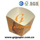 Kundenspezifische Größen-Pommes-Fritespapierbecherhalter