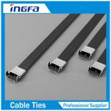 Cable de acero inoxidable que empaqueta la correa para el ambiente áspero