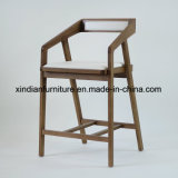 Mobília quente da venda que janta a cadeira nórdica de madeira do café