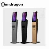 Pedestal Android de 21,5 pulgadas con pantalla de gran pantalla de visualización de anuncios de publicidad digital máquina