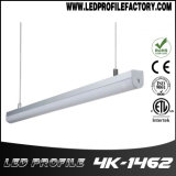 Il LED lega l'espulsione con un nastro, la Manica chiara del LED, profilo di alluminio per l'illuminazione del LED